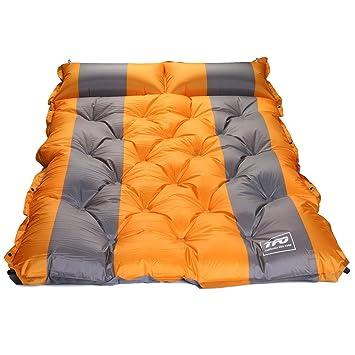 TFO doble autoinflable colchón resistente al agua Sleeping Pad con ...
