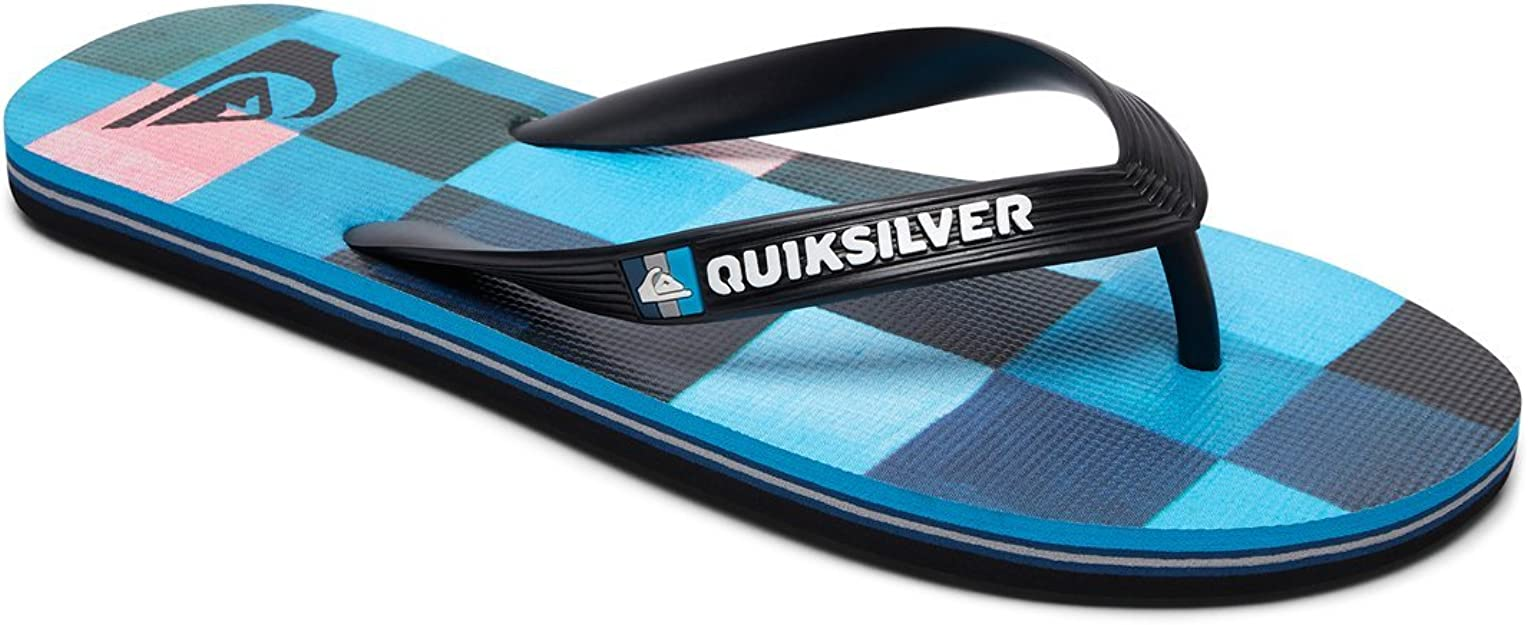 Chaussures de Plage /& Piscine gar/çon Quiksilver Molokai Resin Check