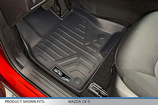 for Civic 5dr Connected Essentials 5033580 Tailored Heavy Duty Custom Fit Car Mats Grey with Red Trim 2001-2006 Premium