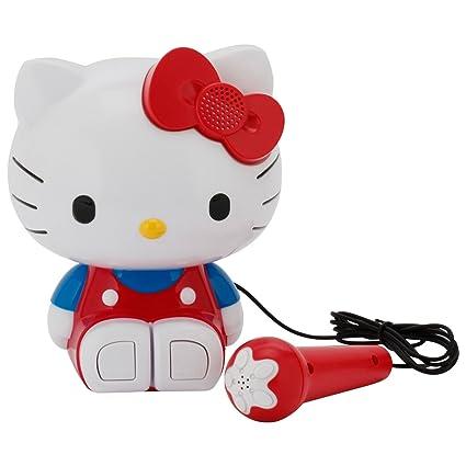 298fd4437 Amazon.com: Hello Kitty Sing A Long Molded Karaoke: Toys & Games