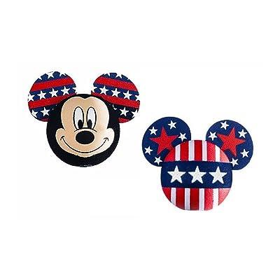 Disney Mickey Mouse American Pride Antenna Topper/Pencil Topper: Automotive