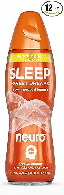 Neuro Sleep Drink That Helps You Sleep-Peach Apricot 14 Ounce