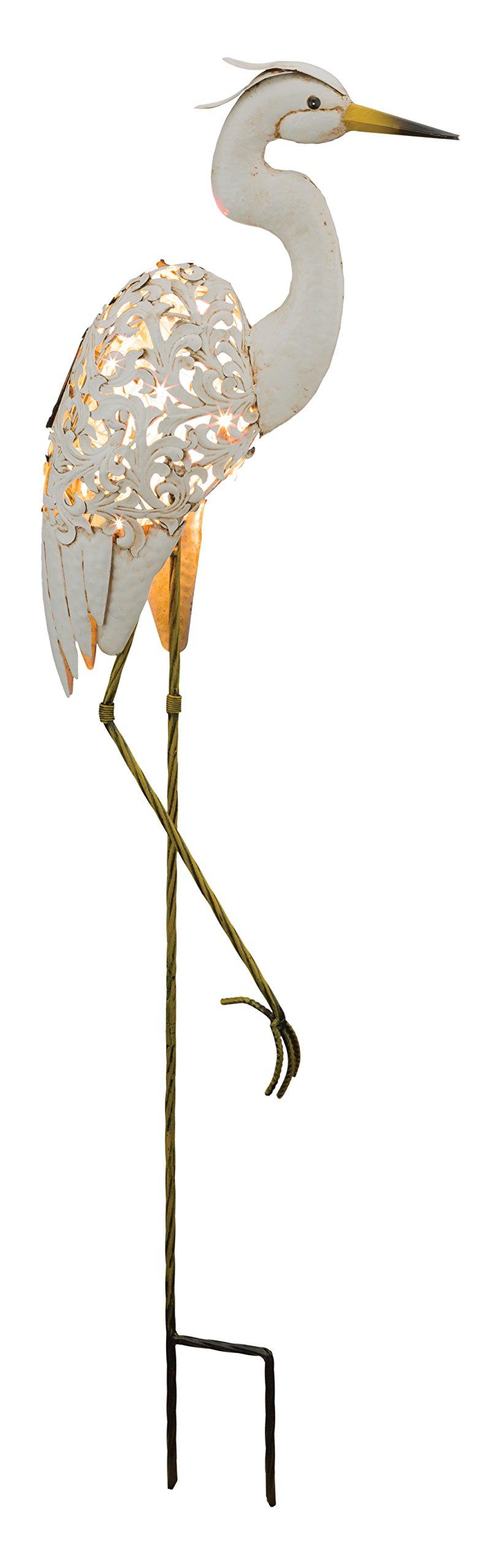 Regal Art & Gift Solar Bird Stake - Egret