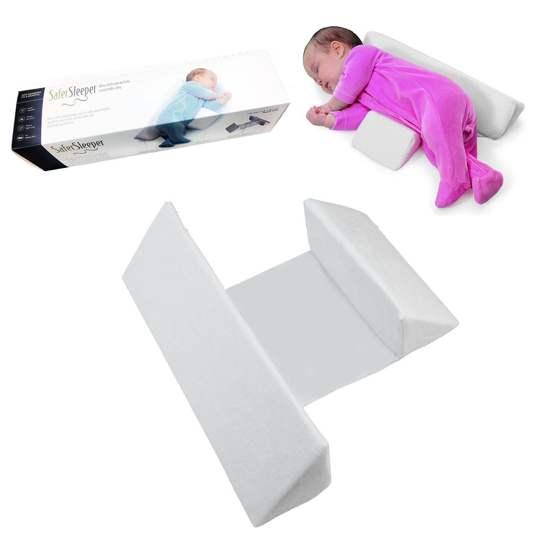 NiceTime Newborns Baby Sleep Pillow (White)