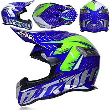 CFYBAO Casco Adulto Motocicleta Todoterreno Casco Fox Personalidad Creativa Four Seasons Casco Equitación Racing Casco Full