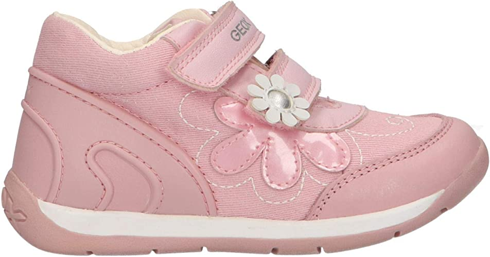 Chaussures bébé Geox B Rishon Girl A Baskets Basses bébé