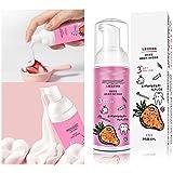 Children Foam Toothpaste Strawberry.Lemon Flavor Foam Toothpaste Kids,Cleansing Mousse Toothpaste,Teeth Whitening Toothpaste,