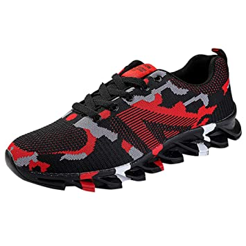 Men/'s Fashionable Sports Breathable Leisure Running Tennis Shoes Athletic Shoes