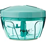 Pigeon New Handy Plastic Chopper with 3 Blades, Green