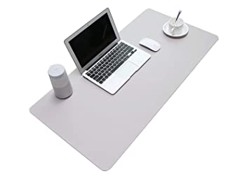 Marvelous Desk Mat Pu Leather Mouse Pad Mat Large Desk Pad Mouse Beutiful Home Inspiration Ommitmahrainfo