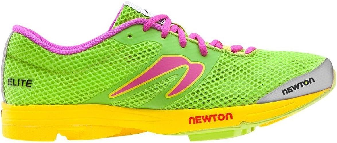 Newton Running - Elite Mujer, Verde (Lima/Rosa (Lime/Pink)), 7 B(M ...
