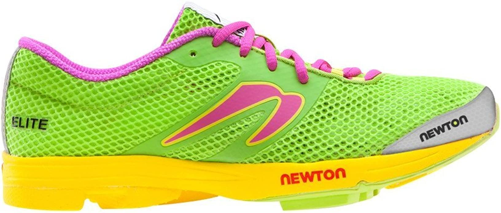 Newton Running - Elite Mujer, Verde (Lima/Rosa (Lime/Pink)), 7 B(M) US: Amazon.es: Zapatos y complementos