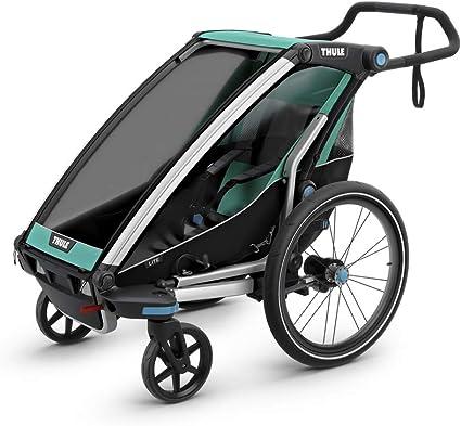 Thule Unisex Erwachsene Chariot Lite2 Bluegrass Fahrradanhanger