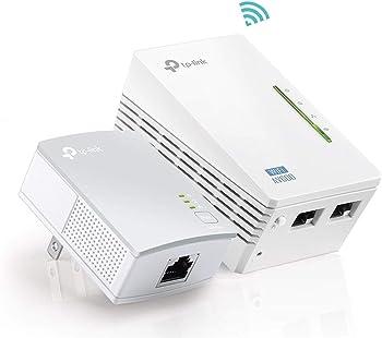 TP-Link AV600 Powerline WiFi Extender Starter Kit