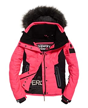 free shipping dc9db 0d354 Superdry Luxe Snow Puffer Jacket W: Amazon.co.uk: Sports ...