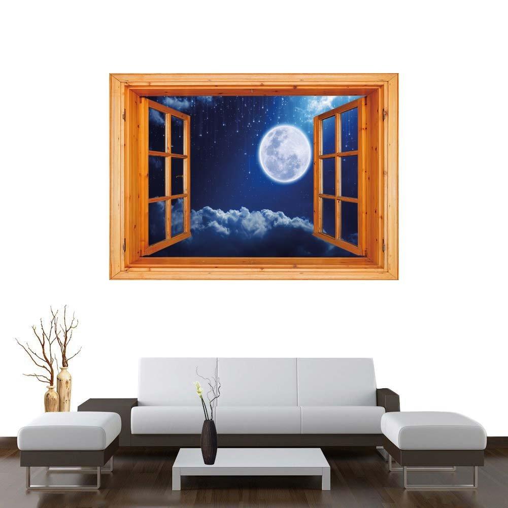 Amazon.com: Vinilo adhesivo de pared con ilustración de ...