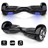 "CHO 6.5"" inch Wheels Original Electric Smart Self Balancing Scooter Hoverboard With Built-In Bluetooth Speaker- UL2272 Certified"