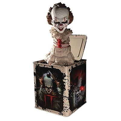 Mezco Toyz IT: Pennywise Burst a Box Standard: Toys & Games