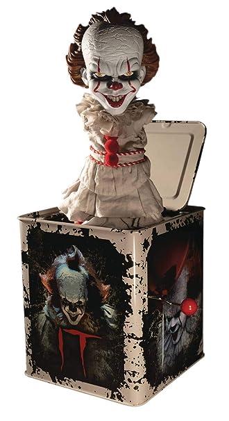 Amazon.com: Mezco It: 2017 Pennywise Burst-A-Box: Toys & Games