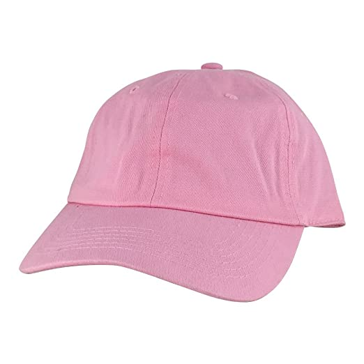 Plain Adjustable Cotton Dad Hat Unstructured Low Profile Baseball ... 104a09b59a2