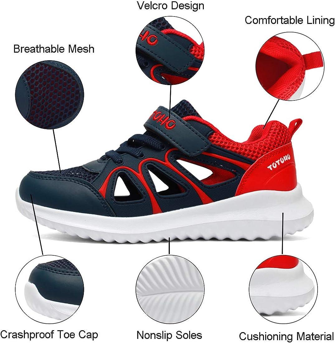 Zapatillas de Deporte Ni/ño Verano Sandalias de Vestir para Ni/ña Zapatillas de Running Respirable Sandalias de Playa Deportivas Ligero Zapatos