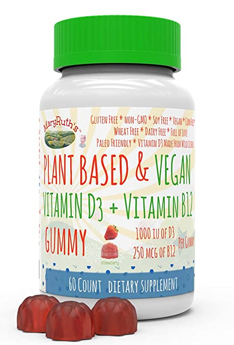 Vegan gummy vitamin