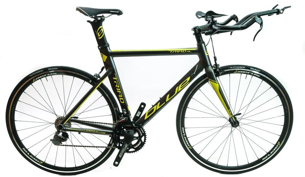 ブルーTriad al 50.5 CM合金Time TrialトライアスロンバイクShimano 105 2 x 11速度新しい B072W2VXM1