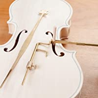 Chienti - Brass Violin Luthier Tools Sound Post Gauge Measurer Retriever Clip Set Violin Parts & Accessories