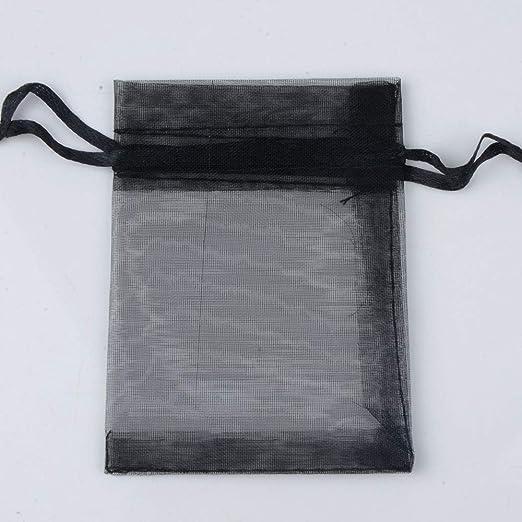 Cregg 50 Bolsas de Organza de 15 x 20 cm, 17 x 23 cm, 20 x ...