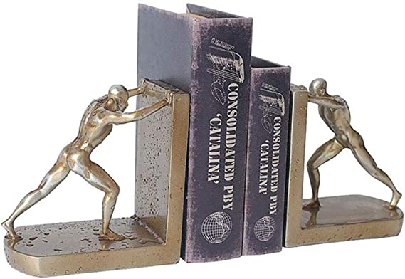 Sujetalibros Decorativos De Escritorio Personajes