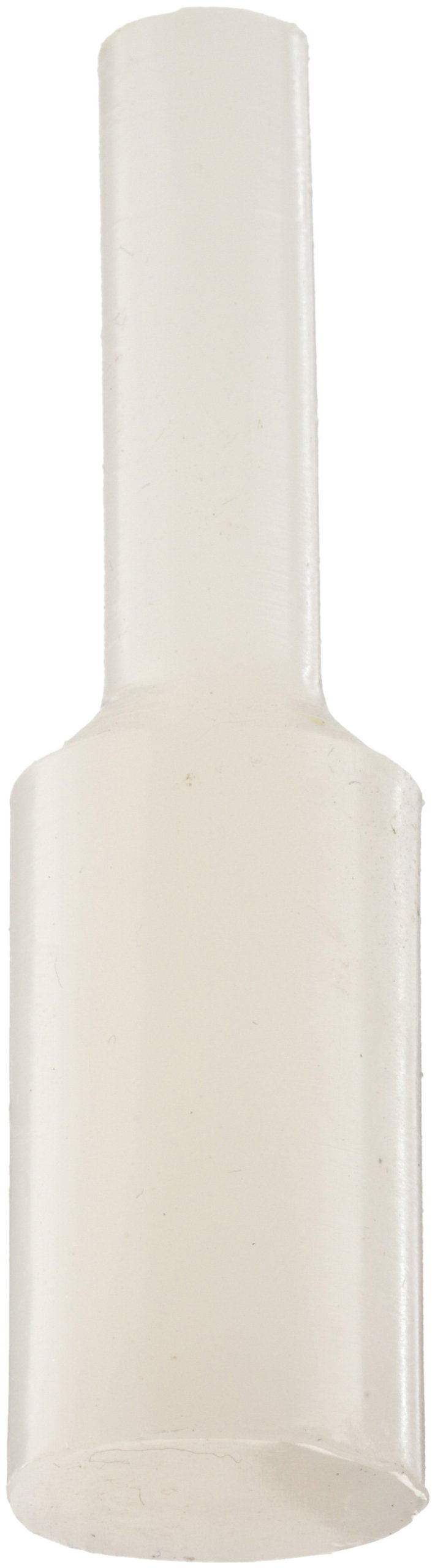 Kapsto 606 / 0104 Silicone Pull Plug, Natural, 10.4 mm (Pack of 100)