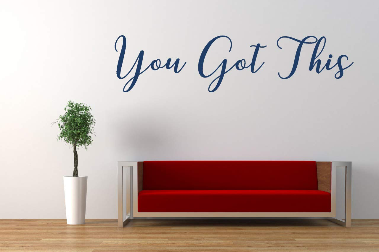 You Got This Quote Wall Art Stickers Decal Mural Nature Home Decor