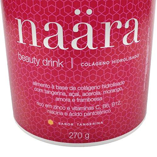 Amazon.com: Bebida da Beleza à Base de Colágeno Hidrolisado - Sabor Tangerina - Naara: Health & Personal Care