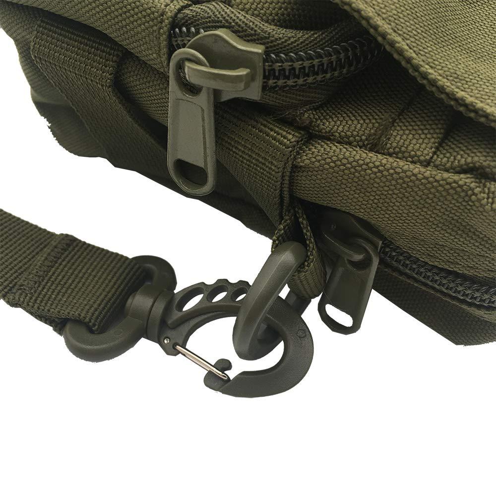 Universal Crossbody Cellphone Purse Waist Pack Bag for Outdoor Sports Moblie Phone Carrying Cases Shoulder Belt Bag Black