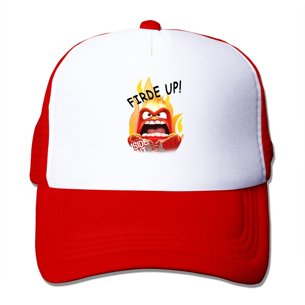 Bang Hombre Inside Out Ira Face ajustable Gorra de béisbol Rojo ...
