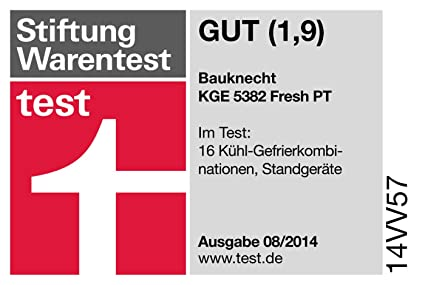 Bauknecht KGE 5382 A3+FRESH PT - Frigorífico (Independiente, Acero ...