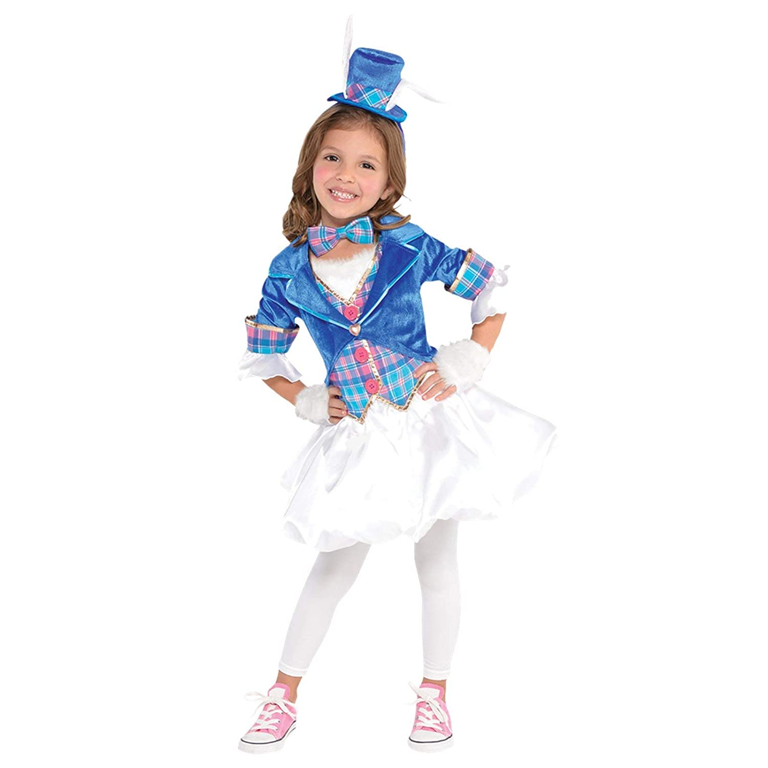 GIRLS DOWN THE RABBIT HOLE COSTUME - X-LARGE (12 - 14 YEARS ...