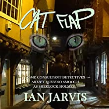 Cat Flap Audiobook by Ian Jarvis Narrated by Paul Halligan