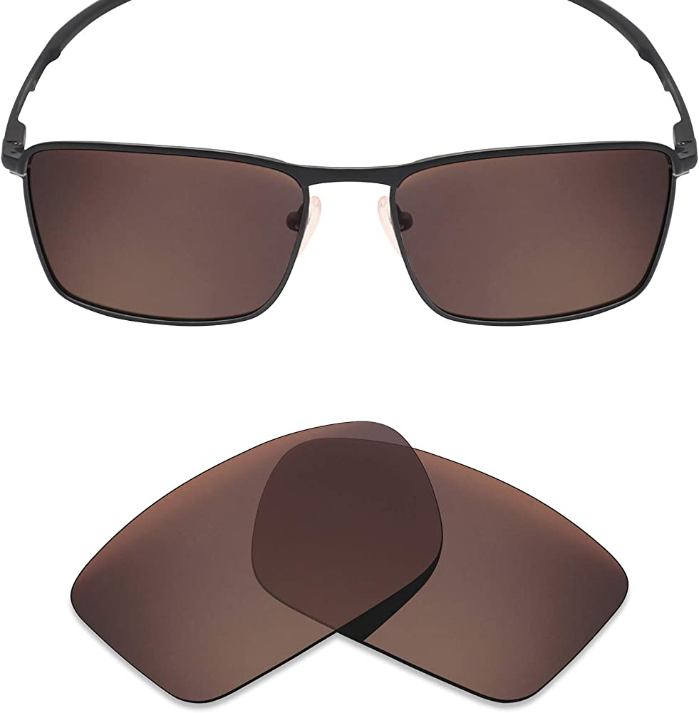 b6c70bf7b96e Mryok Polarized Replacement Lenses for Oakley Conductor 6 - Bronze Brown