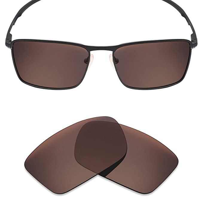 Mryok Polarized Replacement Lenses for Oakley Conductor 6 - Bronze Brown 92d09a82e0