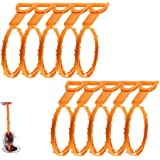 Drain Snake Bamyko 10 Pack Hair Drain Clog Remover Cleaning Tool 20 Inch for Sink, Tube Drain Cleaning