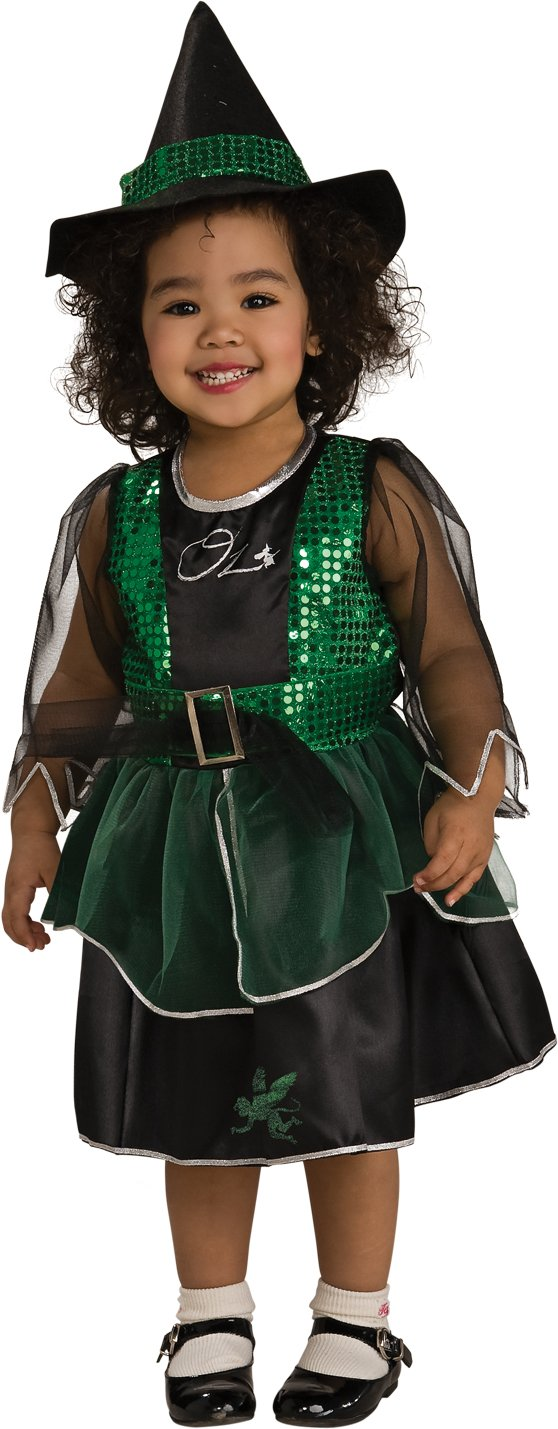 Amazon.com: Wizard Of Oz Costume, Wicked Witch Costume - Small ...