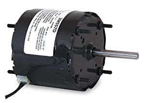 Dayton 3M557 HVAC Motor, Shaded Pole, 1550 Nameplate RPM, 115 Voltage, Frame 3.3, 1/30 hp
