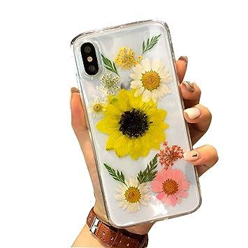 coque iphone xr fleurs séchées