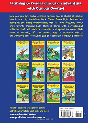 Curious George Big Book of Adventures (CGTV)