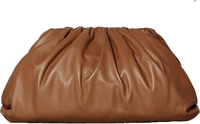 70s Clothes | Hippie Clothes & Outfits BOKPLD Womens Pouch Dumpling Crossbody Bag Cloud Handbag $33.88 AT vintagedancer.com