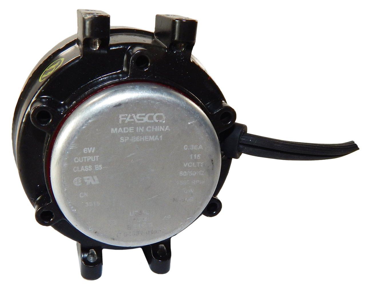 6 Watt 1550 RPM CWLE 115V Unit Bearing Refrigeration Electric Motor # UB558