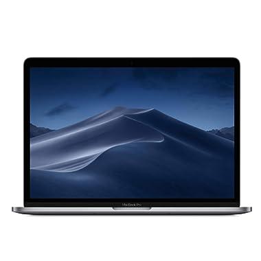 Apple MacBook Pro (13-inch, Touch Bar, 2.4GHz quad-core Intel Core i5, 8GB RAM, 256GB SSD) - Space Gray (Latest Model)