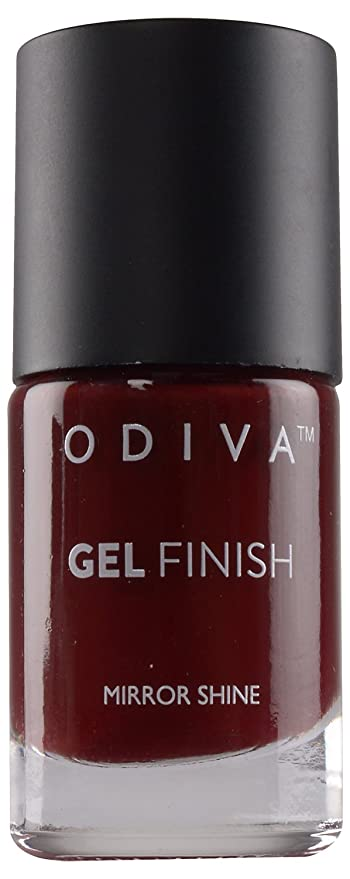 Buy ODIVA Burgundy Wine Nail Polish, Maroon, 11 ml Online at Low ...