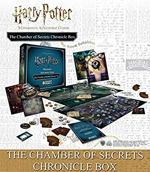 Knight Models Juego de Mesa - Miniaturas Resina Harry Potter Muñecos The Chamber Of Secrets Chronicle Box version inglesa: Amazon.es: Juguetes y juegos